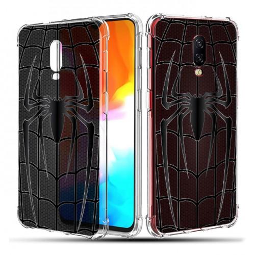 เคส Oneplus 6T Spider Series 3D Anti-Shock Protection TPU Case