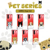 เคส OPPO Find X2 Pet Series Anti-Shock Protection TPU Case