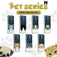 เคส OPPO Find X3 Pro Pet Series Anti-Shock Protection TPU Case