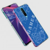 เคส OPPO R17 Pro Anti-Shock Protection TPU Case [Gamer Illustration Blue]