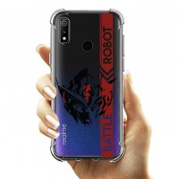 เคส Realme 3 Pro Anti-Shock Protection TPU Case [Battle Robot]