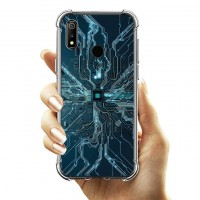 เคส Realme 3 Pro Digital Series 3D Anti-Shock Protection TPU Case [DG002]