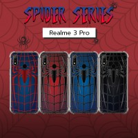 เคส Realme 3 Pro Spider Series 3D Anti-Shock Protection TPU Case