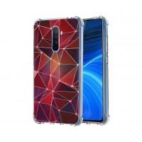 เคส Realme X2 Pro Polygon Series 3D Anti-Shock Protection TPU Case [PG004]