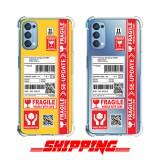 เคส OPPO Reno4 4G Shipping Series 3D Anti-Shock Protection TPU Case