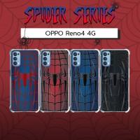 เคส OPPO Reno4 4G Spider Series 3D Anti-Shock Protection TPU Case