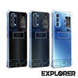 เคส OPPO Reno5 5G [ Explorer Series ] 3D Anti-Shock Protection TPU Case