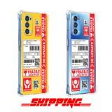 เคส OPPO Reno5 5G Shipping Series 3D Anti-Shock Protection TPU Case
