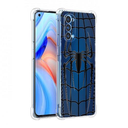 เคส OPPO Reno5 5G Spider Series 3D Anti-Shock Protection TPU Case