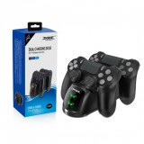 แท่นชาร์จจอย Dobe Dual Charging Dock with LED for Playstation 4 Wireless Controller