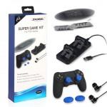 ชุด DOBE Super Game Kit 5 in 1 สำหรับ Playstation 4 Pro