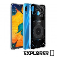 เคส Samsung Galaxy A30 [Explorer II Series] 3D Anti-Shock Protection TPU Case