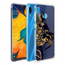 เคส Samsung Galaxy A30 Forbidden City Series 3D Anti-Shock Protection TPU Case [FC001]