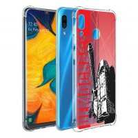 เคส Samsung Galaxy A30 War Series 3D Anti-Shock Protection TPU Case [WA002]