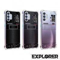 เคส Samsung Galaxy A32 5G [ Explorer Series ] 3D Anti-Shock Protection TPU Case