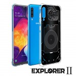 เคส Samsung Galaxy A50 [Explorer II Series] 3D Anti-Shock Protection TPU Case