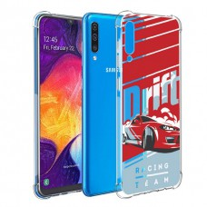เคส Samsung Galaxy A50 Anti-Shock Protection TPU Case [Racing Team]