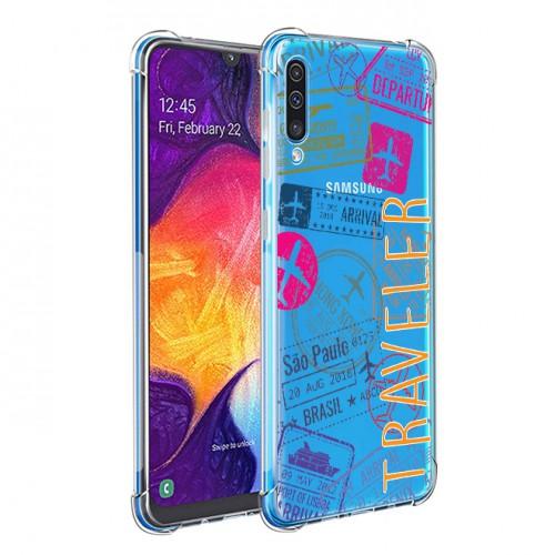 เคส Anti-Shock TRAVELER สำหรับ Galaxy A72 / A52s / A52 / A32 / A71 / A51 / A80 / A70 / A50 / A30