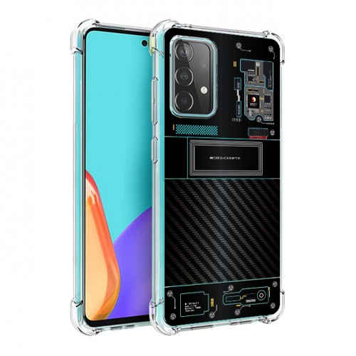 เคส Samsung Galaxy A52 5G [ Explorer Series ] 3D Anti-Shock Protection TPU Case