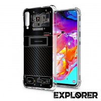 เคส Samsung Galaxy A70 [Explorer Series] 3D Anti-Shock Protection TPU Case