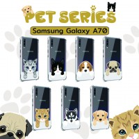 เคส Samsung Galaxy A70 Pet Series Anti-Shock Protection TPU Case