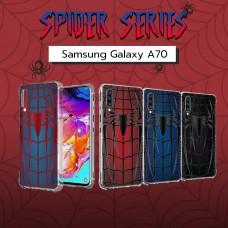 เคส Samsung Galaxy A70 Spider Series 3D Anti-Shock Protection TPU Case