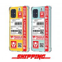 เคส Samsung Galaxy A71 Shipping Series 3D Anti-Shock Protection TPU Case