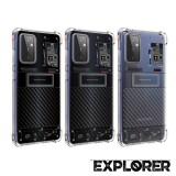 เคส Samsung Galaxy A72 5G [ Explorer Series ] 3D Anti-Shock Protection TPU Case
