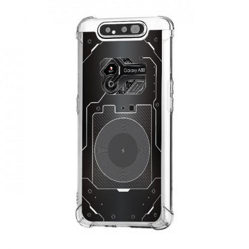 เคส Samsung Galaxy A80 [Explorer II Series] 3D Anti-Shock Protection TPU Case