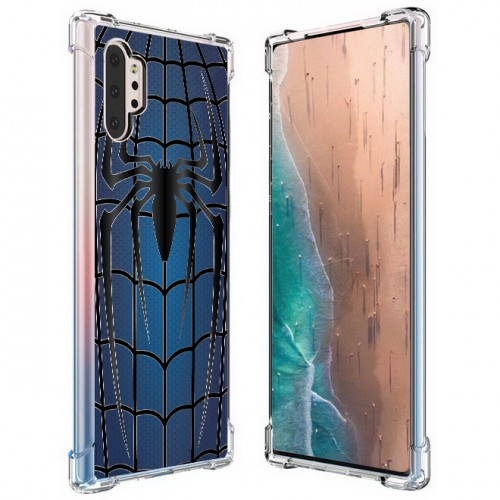 เคส Samsung Galaxy Note 10 Plus (Note 10+) Spider Series 3D Anti-Shock Protection TPU Case