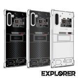 เคส Samsung Galaxy Note 10 [Explorer Series] 3D Anti-Shock Protection TPU Case