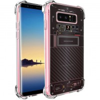 เคส Samsung Galaxy Note 8 [Explorer Series] 3D Anti-Shock Protection TPU Case [Translucent]