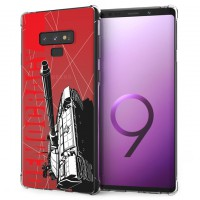 เคส Samsung Galaxy Note 9 War Series 3D Anti-Shock Protection TPU Case [WA002]