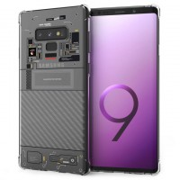เคส Samsung Galaxy Note 9 [Explorer Series] 3D Anti-Shock Protection TPU Case [Transparent]