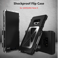 R-Just King Iron Man Shockproof Flip Style for Samsung Galaxy Note 9