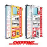 เคส Samsung Galaxy S10 Lite Shipping Series 3D Anti-Shock Protection TPU Case