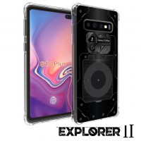 เคส Samsung Galaxy S10 Plus (S10+) [Explorer II Series] 3D Anti-Shock Protection TPU Case