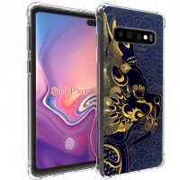 เคส Samsung Galaxy S10 Plus (S10+) Forbidden City Series 3D Anti-Shock Protection TPU Case [FC001]