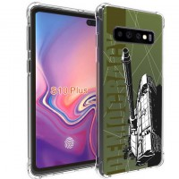 เคส Samsung Galaxy S10 Plus War Series 3D Anti-Shock Protection TPU Case [WA001]