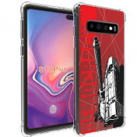 เคส Samsung Galaxy S10 Plus (S10+) War Series 3D Anti-Shock Protection TPU Case [WA002]
