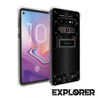 เคส Samsung Galaxy S10 [Explorer Series] 3D Anti-Shock Protection TPU Case