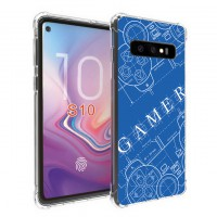 เคส Samsung Galaxy S10 Anti-Shock Protection TPU Case [Gamer Illustration Blue]