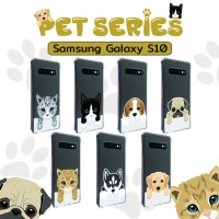 เคส Samsung Galaxy S10 Pet Series Anti-Shock Protection TPU Case