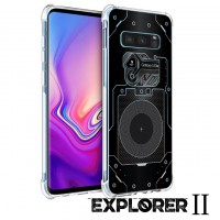เคส Samsung Galaxy S10e [Explorer II Series] 3D Anti-Shock Protection TPU Case