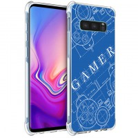 เคส Samsung Galaxy S10e Anti-Shock Protection TPU Case [Gamer Illustration Blue]