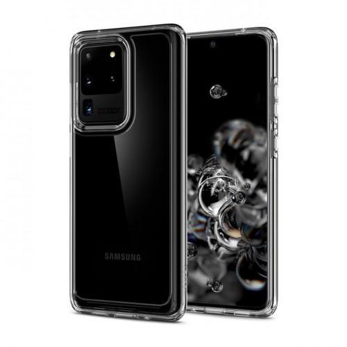 (ของแท้+ของแถม) เคส Samsung Galaxy SPIGEN Ultra Hybrid สำหรับ S20 / Plus / Ultra / Note 10 / 9 / S10 / Plus / S10e