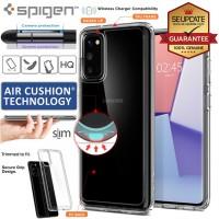 (ของแท้) เคส Samsung Galaxy S20 / S20 Plus / S20 Ultra SPIGEN Crystal Hybrid : Crystal Clear