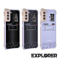 เคส Samsung Galaxy S21 Plus [ Explorer Series ] 3D Anti-Shock Protection TPU Case