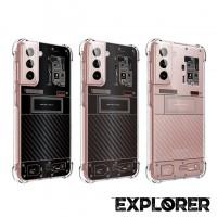 เคส Samsung Galaxy S21 [ Explorer Series ] 3D Anti-Shock Protection TPU Case