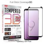 ฟิล์มกระจก แบบเต็มจอ Dapad 3D Full Stick Tempered Glass Screen Protector for Samsung Galaxy S9 Plus (กาวเต็มแผ่น)